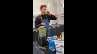 Stephan makes Dr. Rhonda Patrick's Micronutrient Green Smoothie @FoundMyFitness