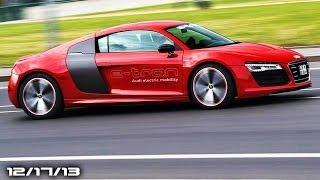 R8 e-tron Is Back, Ford Models, New Chrysler 200, Porsche 911 Targa, & Doing It Wrong!
