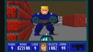 Wolfenstein 3D - Episode 1: Escape From Castle Wolfenstein (SDL) 100%