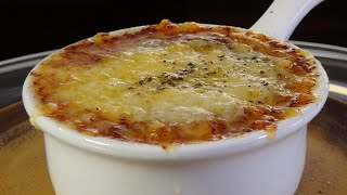 French Onion Soup Recipe – Bruno Albouze – THE REAL DEAL