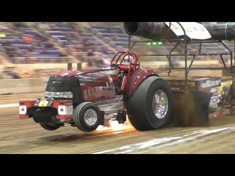 Alcohol Super Stock Tractors Pulling At Keystone Nationals