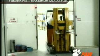 ezer automatic door company / PAW DOORS