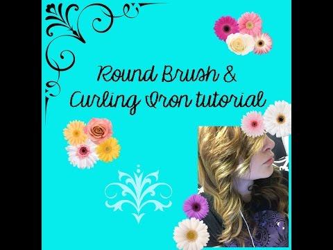Roundbrush& Curling Iron Tutorial