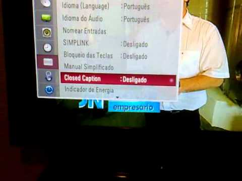 TV LCD LG 42 Polegadas TIME MACHINE mod. 42LH45ED com Defeitos