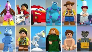 LEGO The Incredibles - All Special Pixar Characters Unlocked