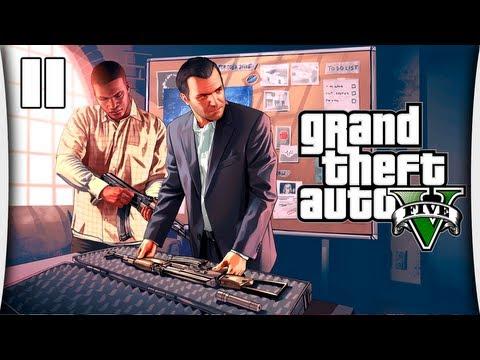 GTA V - Часть 11 Подготовка к ограблению