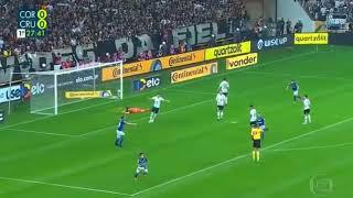 Gol do Robinho do CRUZEIRO 1x0 Corinthians - Copa Do Brasil FINAL 17/10/2018