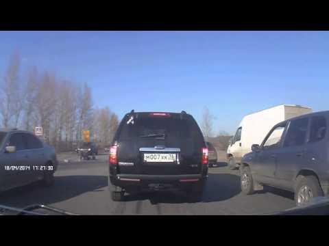 Авария в Ярославле 18 04 2014