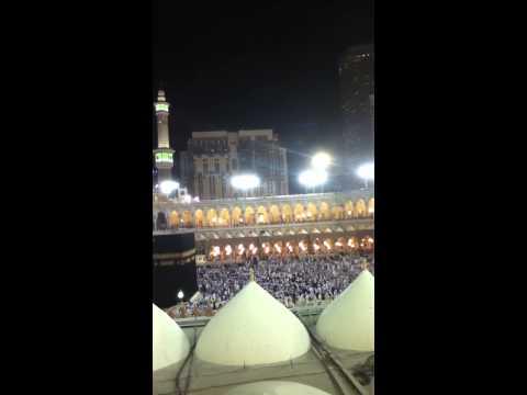 Umrah Trip Athan Of Al Haram Masjid Mecca video