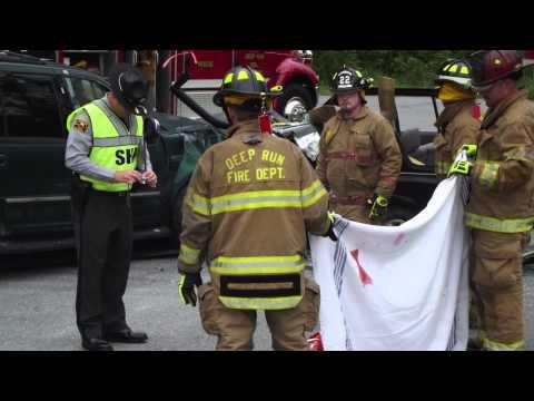 South Lenoir High School EMS Class 2014: Mock Wreck