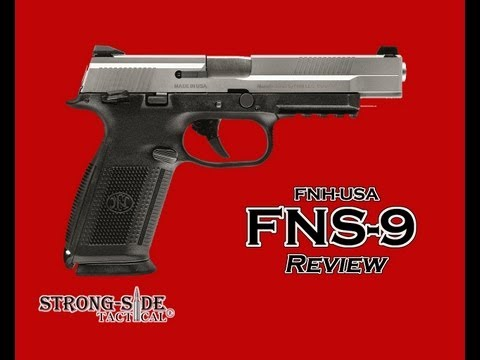 REVIEW: The FNS-9 9mm Handgun by FNH-USA [HD] @StrongsideTactical