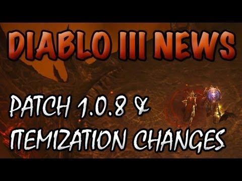 Diablo 3 News: Patch 1.0.8