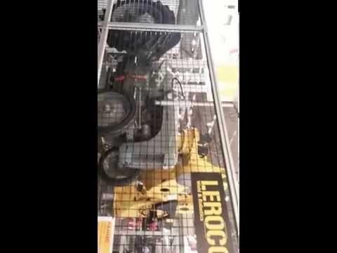 Giant Fanuc robot