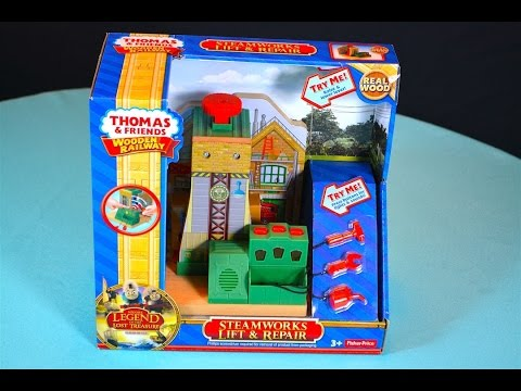STEAMWORKS LIFT & REPAIR   2016 Thomas Wooden Railway Review