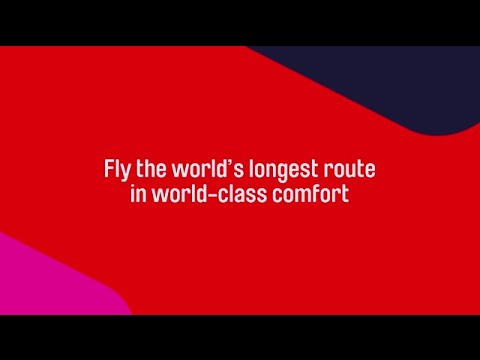 Qantas launches world's largest aircraft on the world's longest route