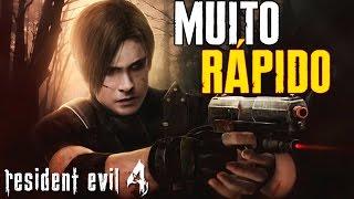 SENDO MUITO RÁPIDO NO RESIDENT EVIL 4! - SPEED RUN