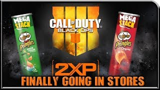 Call Of Duty Pringles Are Now Being Delivered To ALL Walmart's!!