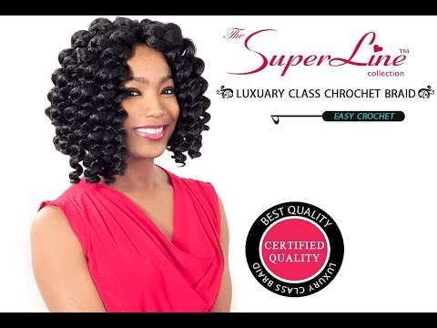 SUPERLINE COLLECTION BOUNCE CURL EASY CROCHET BRAIDS REVIEW