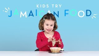 Kids Try Jamaican Food | Kids Try | HiHo Kids