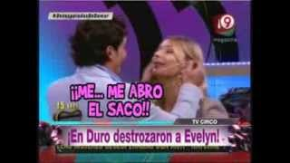 Bendita Tv 2013 En Duro de Domar Destrozaron a Evelyn!!