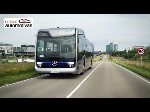Mercedes-Benz revela ônibus de condução autônoma - NoticiasAutomotivas.com.br