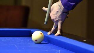 One hand shots Artistic Billiards Trickshots All Masséshots Artistic Billiards By Martin Van Rhee