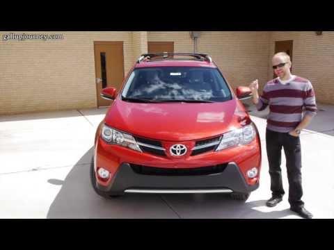 2013 Toyota RAV4 XLE AWD: Blending in just got easier!  In-Depth Review