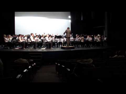 Roosevelt middle school - Wildcat band - Festival 2013-1/1