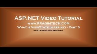 ASP .net Tutorial