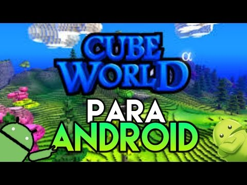 🔴CUBE WORLD Lançou!!! Para ANDROID   Gameplay Review Android