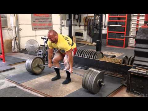Eric Lilliebridge- Deadlift Training up to 395kgs/870lbs Image 1