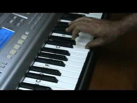 aadat .. juda ho ke bhi - keyboard video by mmv