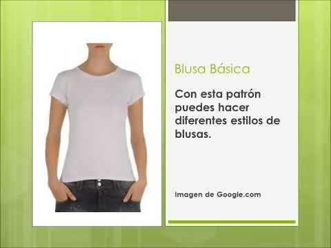 Alta Costura: Lección 3 (Patron de Blusa)