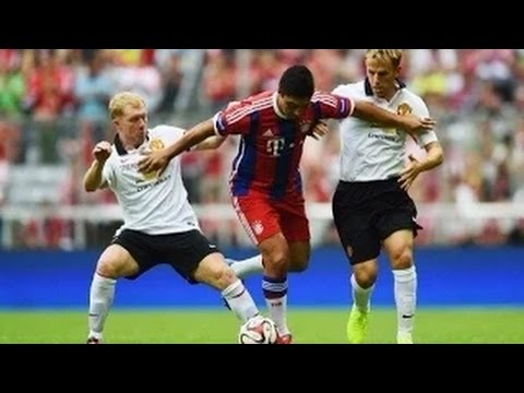 Bayern Munich All Stars vs Manchester United All Stars 3:3 All Goals And Highlights 2014 HD