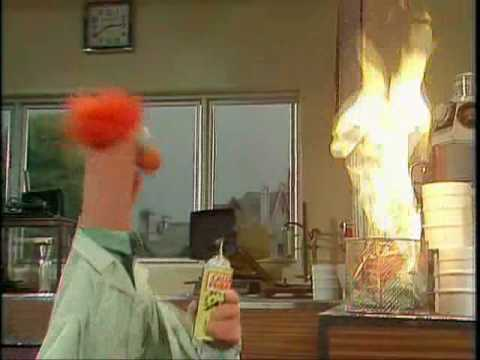 The Muppet Show: Muppet Labs - Fireproof Paper - YouTube