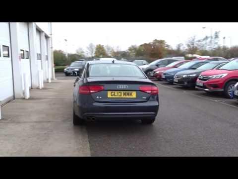 GL13MMK Audi A4 TDI SE TECHNIK 2l JCB USED CAR CENTRE ASHFORD