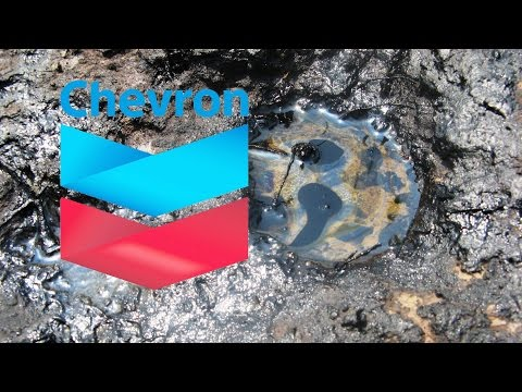 Chevron Video Leaked Showing Massive Oil Spill Cover-Up