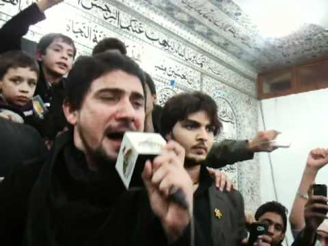 FARHAN ALI WARIS Live Azadari At AL-Zulfiqar 26 Safar Part 1/3