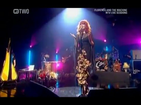Florence And The Machine - Drumming Song (MTV Live Sessions 2009)