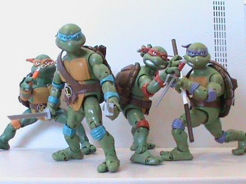 TMNT Teenage Mutant Ninja Turtles Classics 6 Inch Figures Review