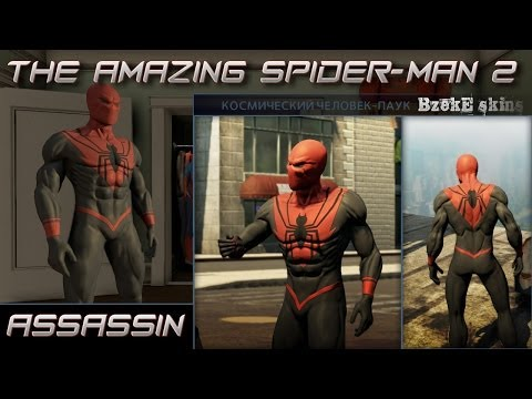 The Amazing Spider-Man 2 Assassin skin [BzekE Skins]