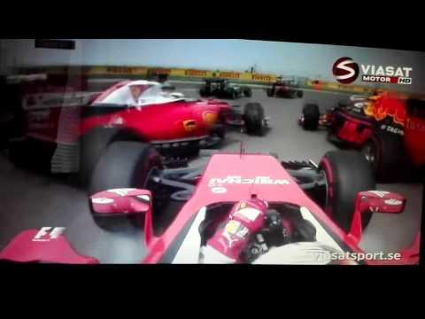 F1 2016 - Chinese Grand Prix Race - Vettel Hits Raikkönen