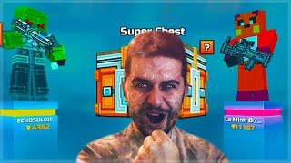 Pixel Gun 3D   OMG! FIGHTING 1 V 1 DUELS FOR CHESTS & OPENING SUPER CHESTS! CRAZY BATTLES