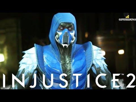 """Injustice 2: Sub-Zero Gameplay Epic Gear, Super Move & Abilities! - Injustice 2 """"Sub-Zero"""" Gameplay"""