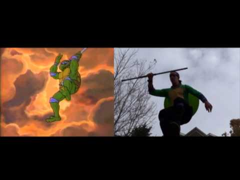 Live Action Teenage Mutant Ninja Turtles Cartoon Intro