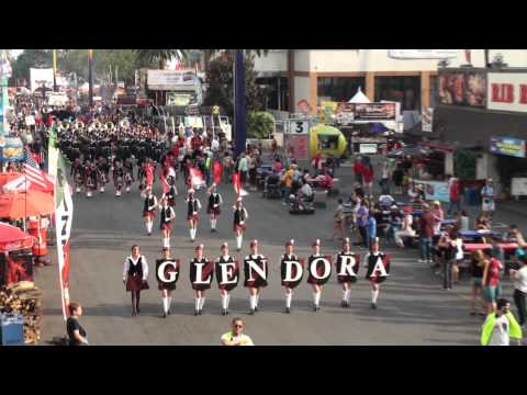 Glendora Hs Tartan Band & Pageantry - Scotland The Brave - 2011 Los Angeles County Fair video