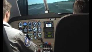FlightSafety International FS1000 Full Flight Simulator