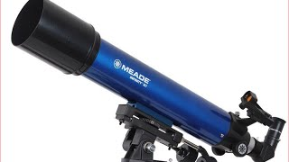 Meade 209005 Infinity 90mm AZ Refractor Telescope Blue