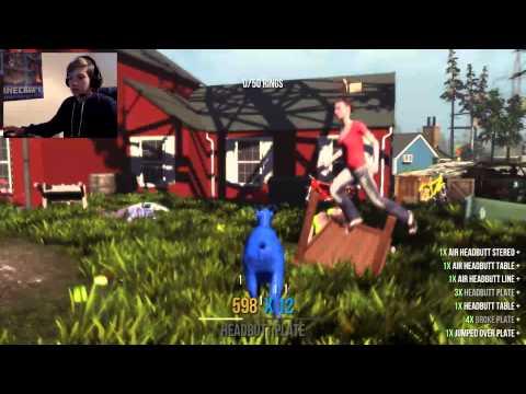SUPER SANIC GOAT!  Goat Simulator