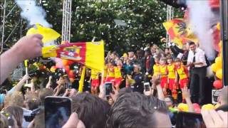 Huldeging Go Ahead Eagles 27-05-2013